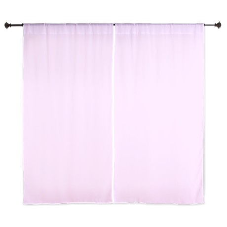 solid  pink window curtains