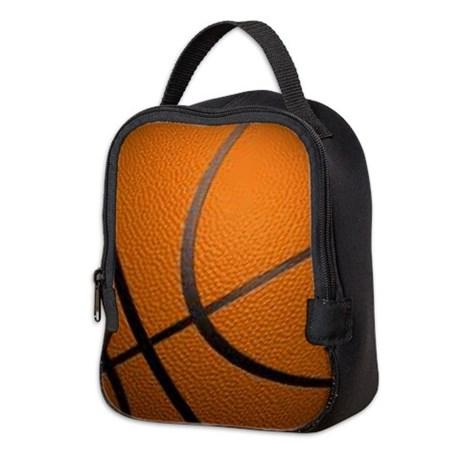 basketball_sports_neoprene_lunch_bag