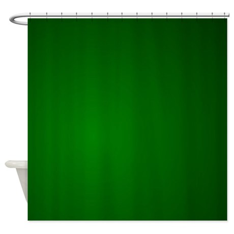 hunter_green_gradient_shower_curtain