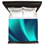 Blue Flush King Duvet