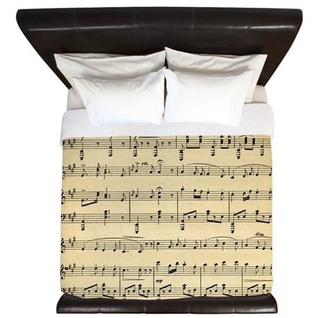 sheet_music_king_duvet