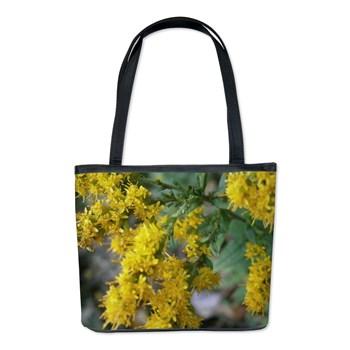 Yellow Bush Bucket Bag
