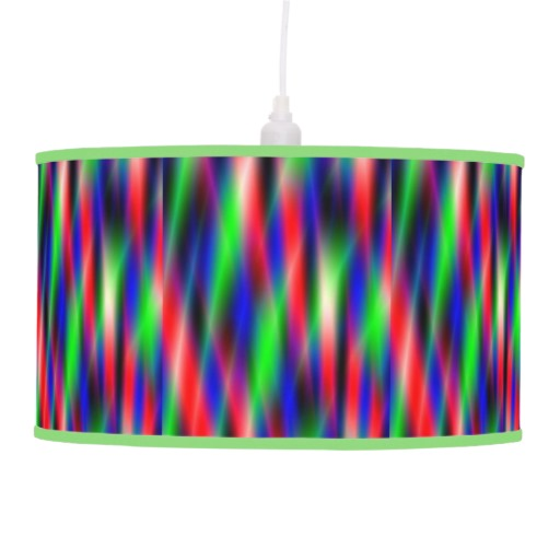 Psychedelic Waves Ceiling Lamp