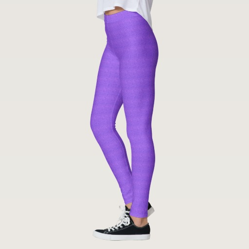 Lavender Purple Wash Leggings