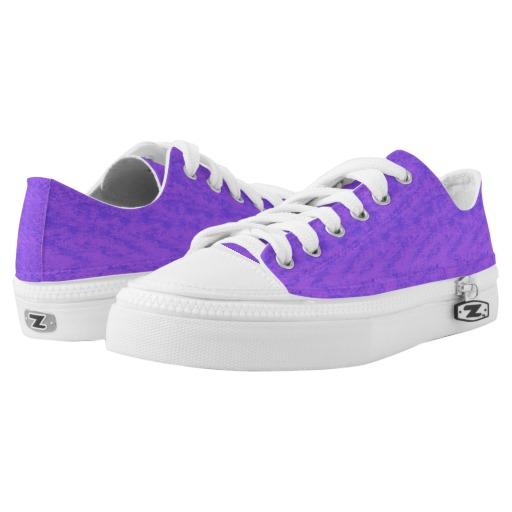 Lavender Purple Wash Low-Top Sneakers