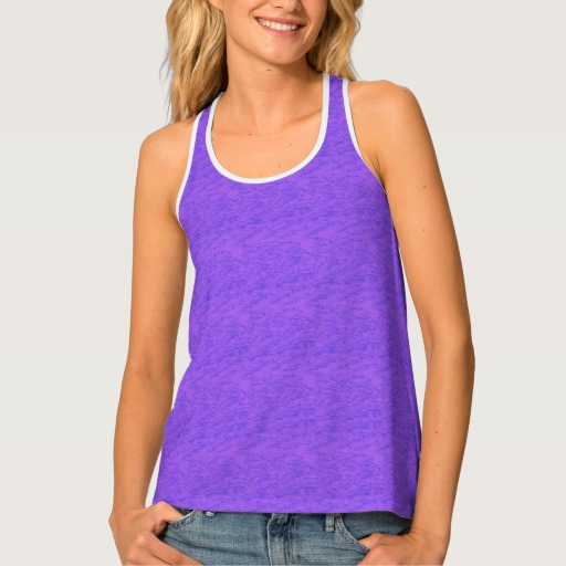 Lavender Purple Wash Tank Top