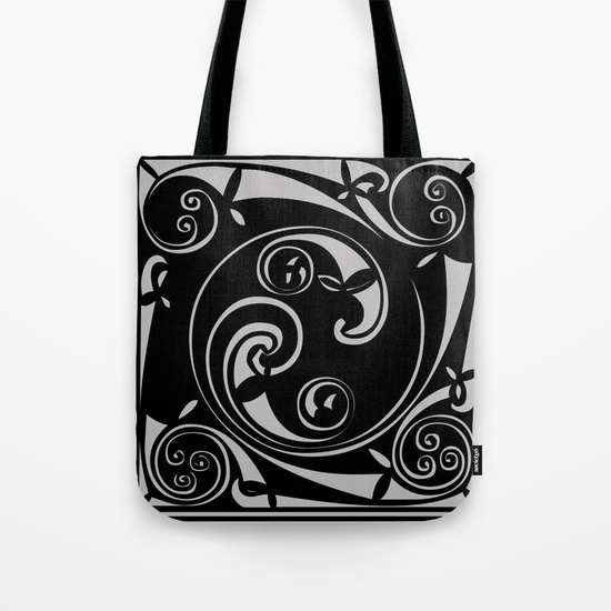 Mayan Block Tote Bag