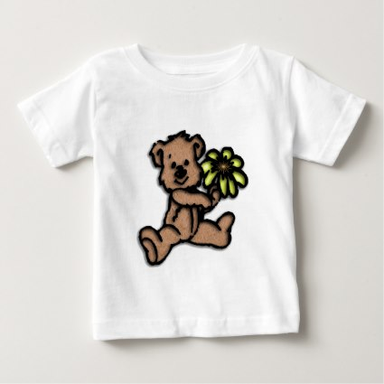 Daisy Bear Design Baby T-Shirt