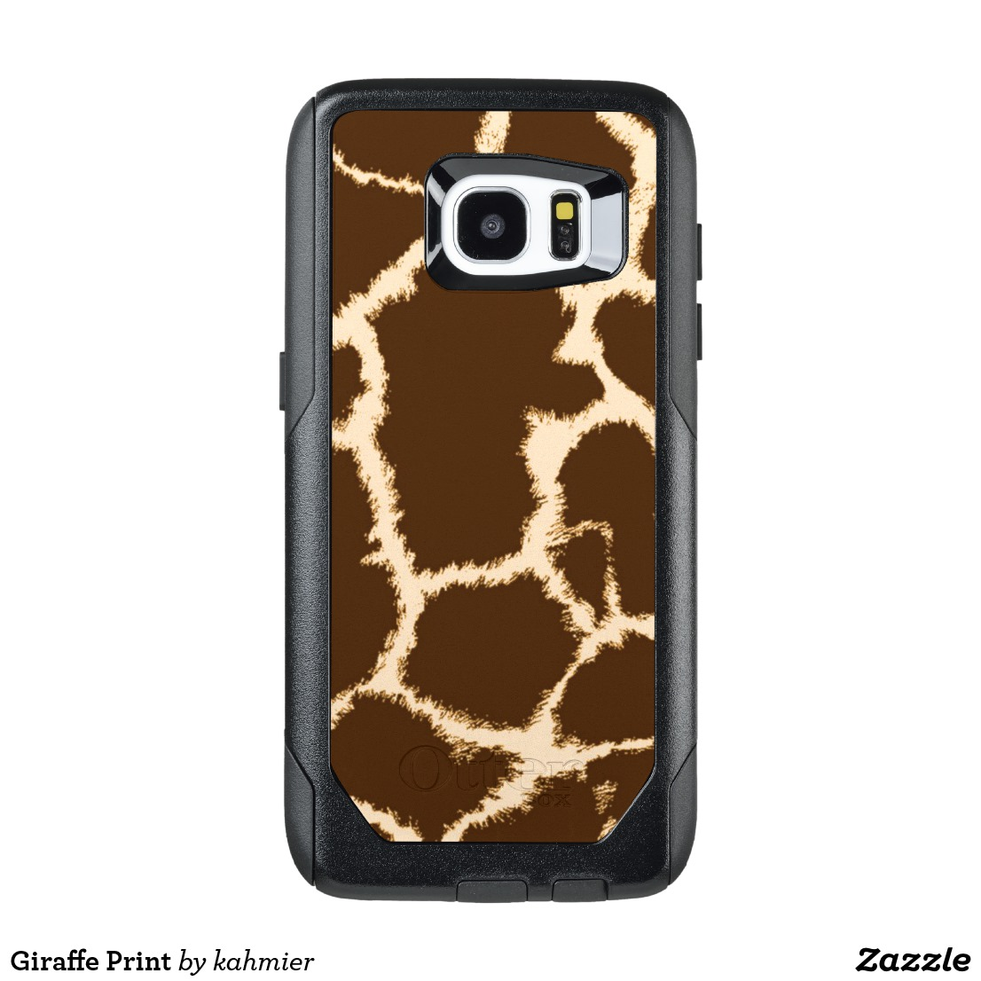 Giraffe Print OtterBox Samsung Galaxy S7 Edge Case