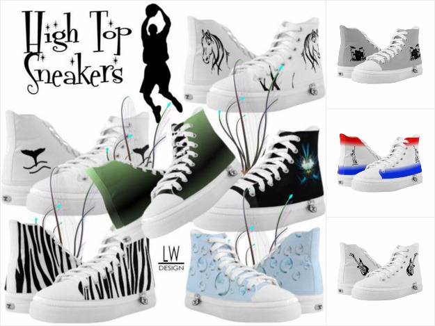 High Top Sneakers / Design Sneakers