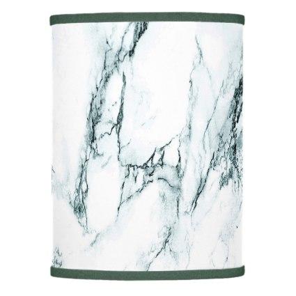 Dark Turquoise Vein Marble Look Table Lamp