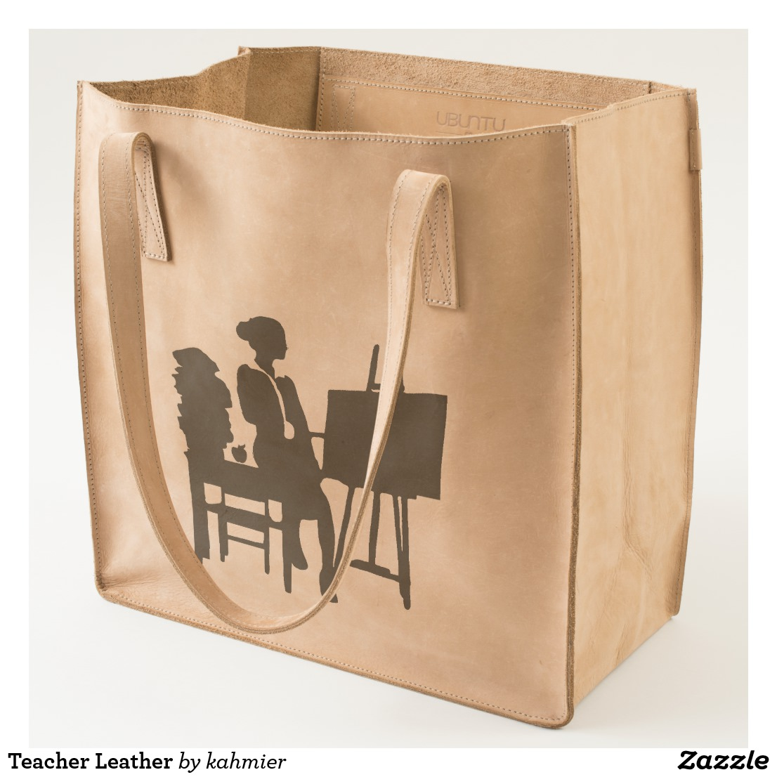 Teacher Leather Tote