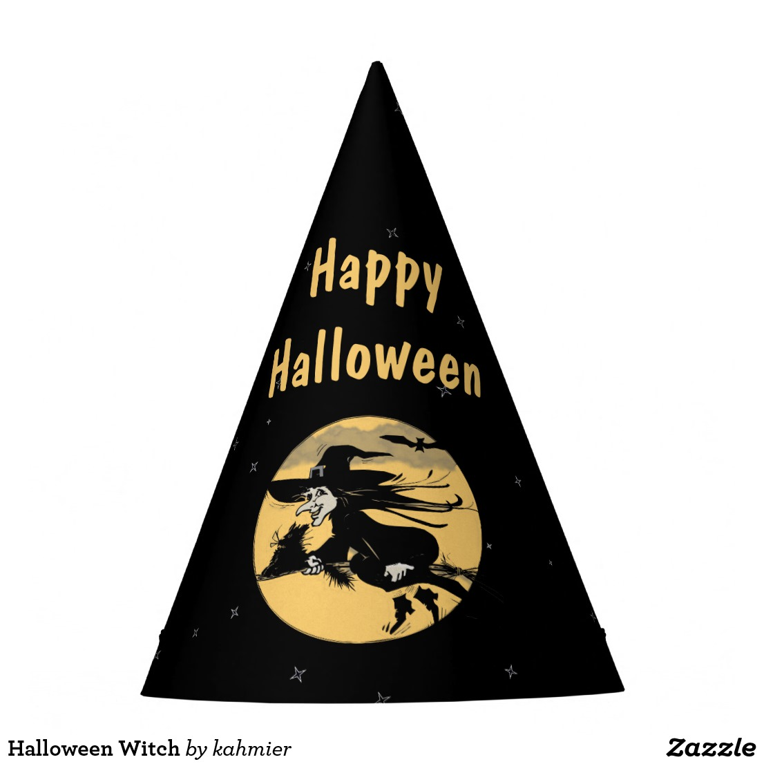 Halloween Witch Party Hat