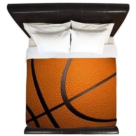 Basketball Big Wide King Duvet