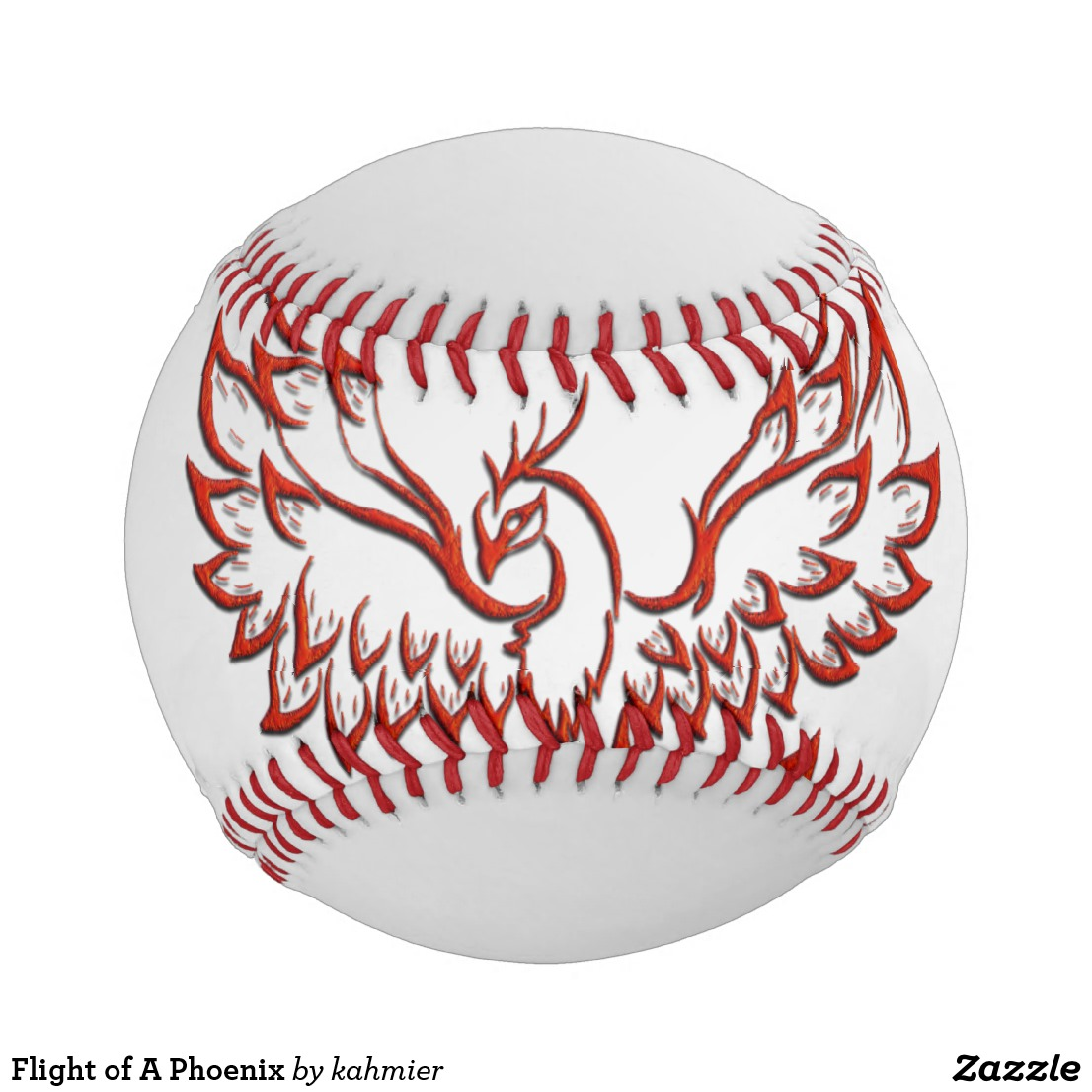 Flight of A Phoenix Baseball