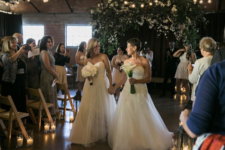 Beautiful brides Lesbian Wedding