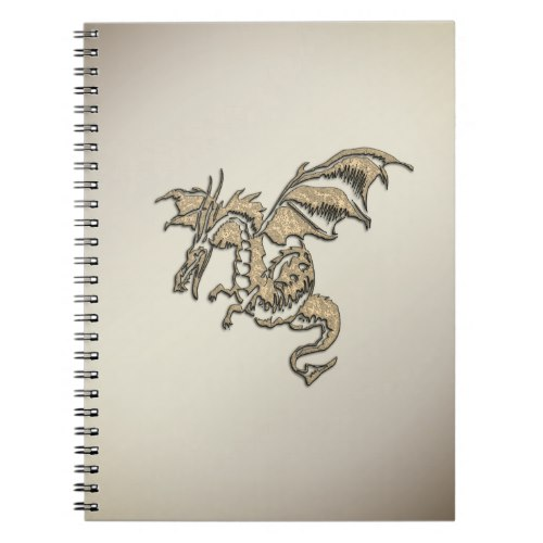 Golden Dragon Notebook