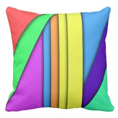 Crayon Box Outdoor Pillow