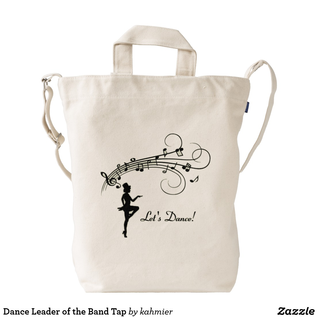 Dance Leader of the Band Tap Duck Bag