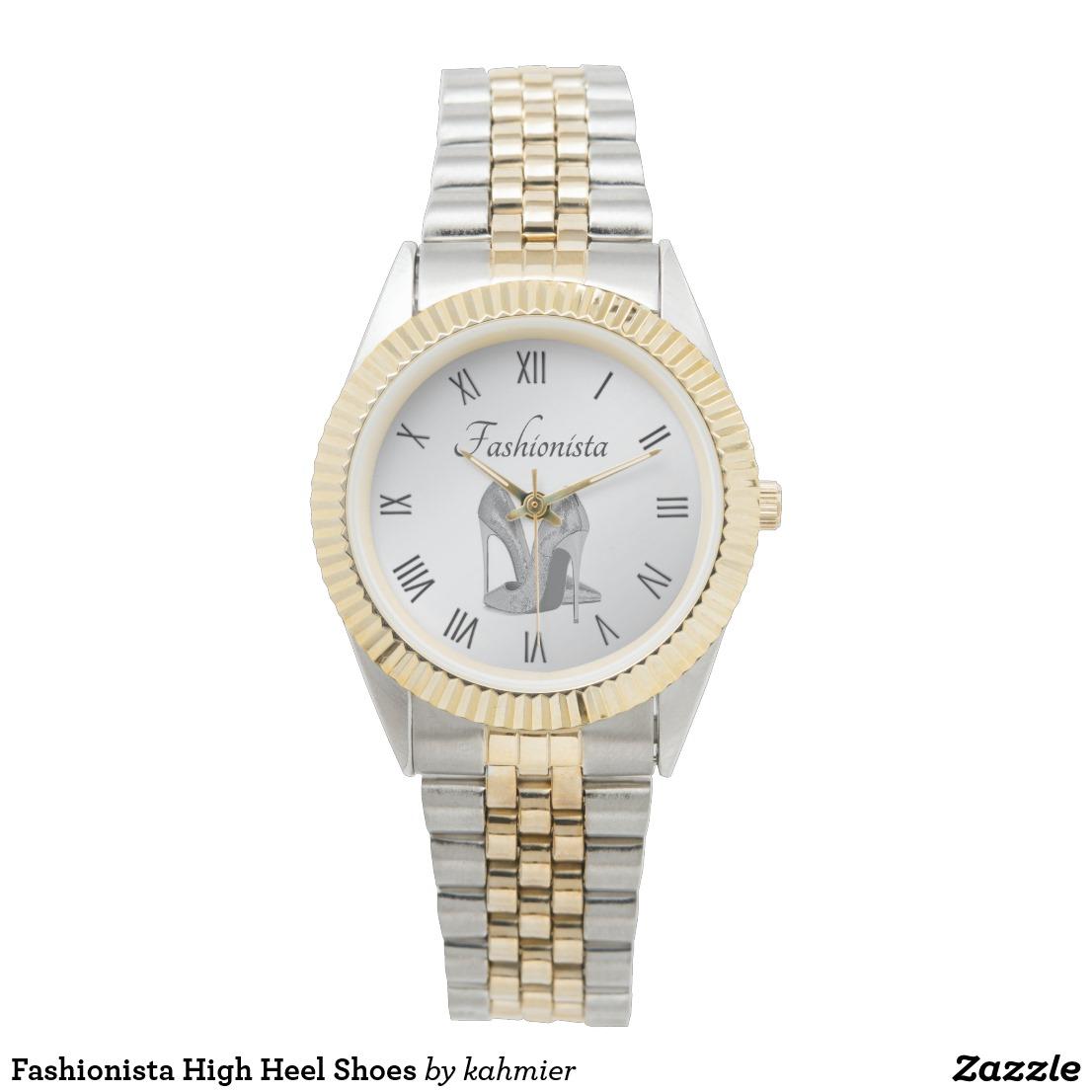 Fashionista High Heel Shoes Watch