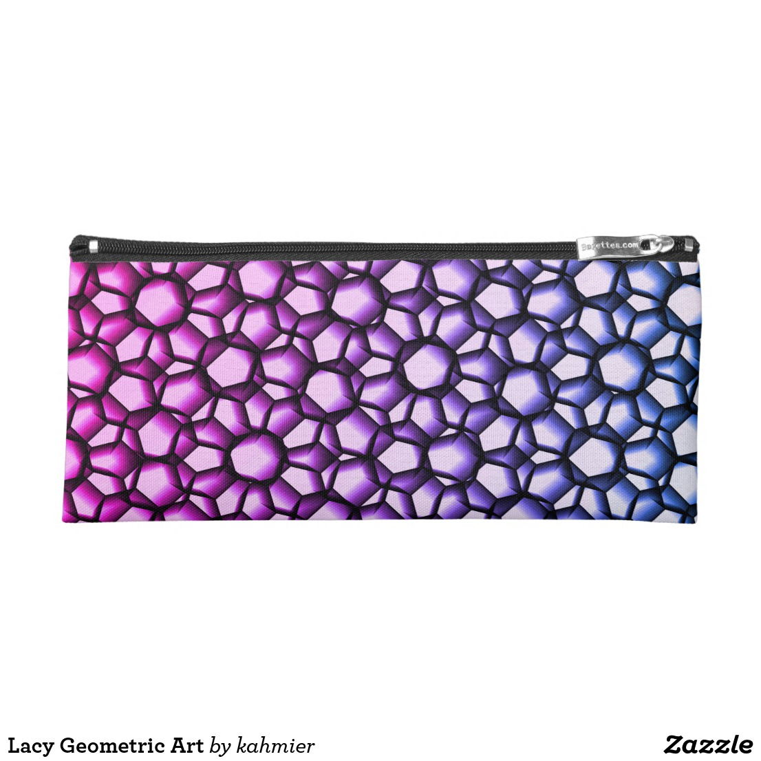 Lacy Geometric Art Pencil Case