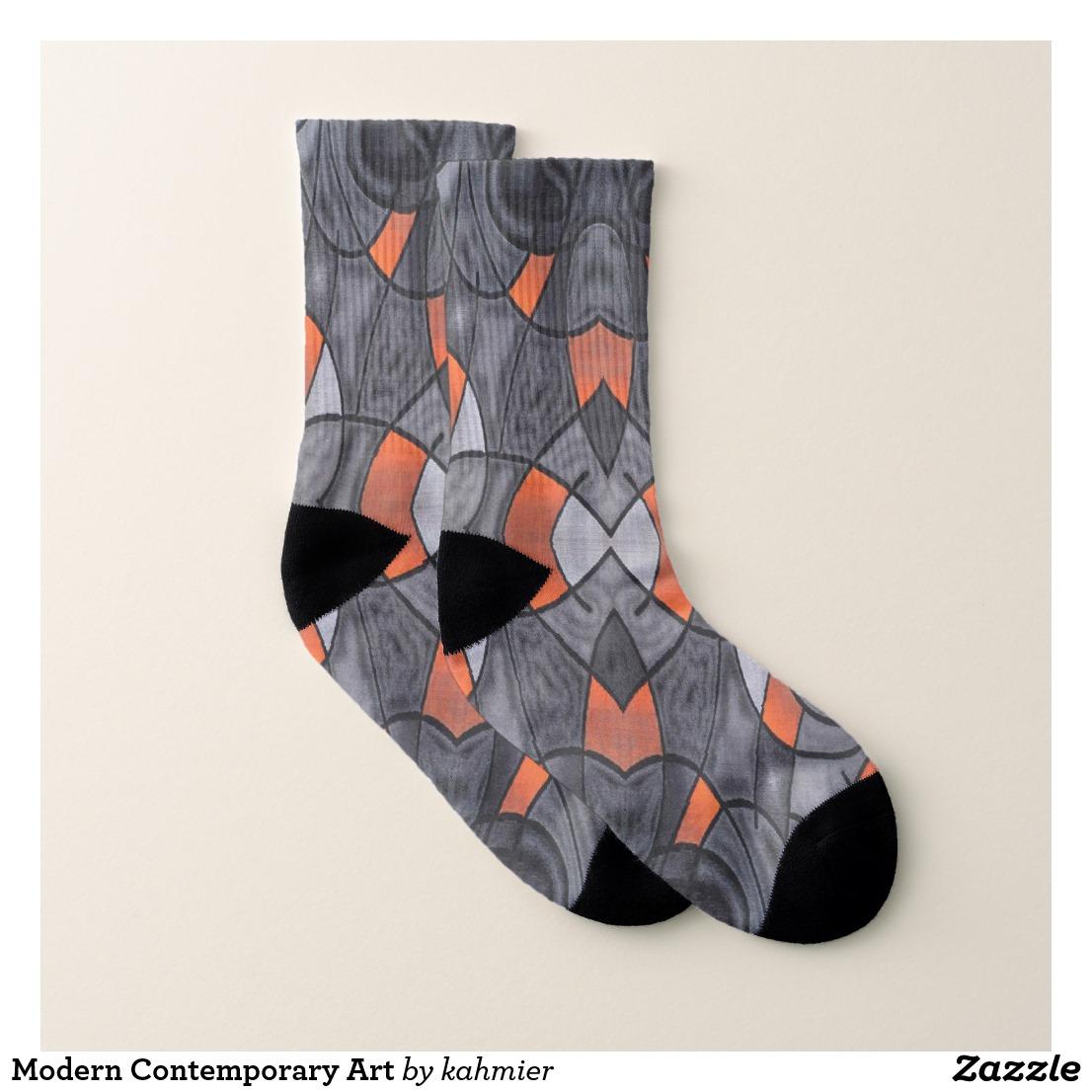 Modern Contemporary Art Socks