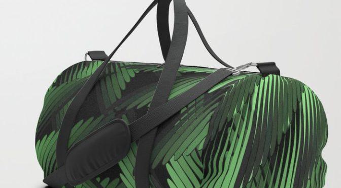 Green Fern Jungle Duffle Bag