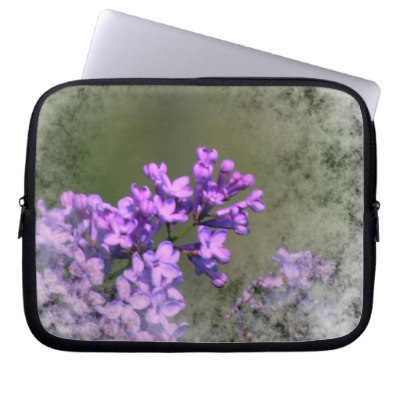 Lilac Flower Lovely Computer Sleeve