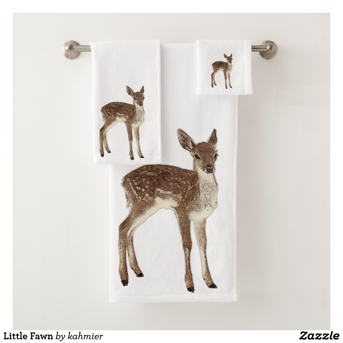 Little Fawn Bath Towel Set