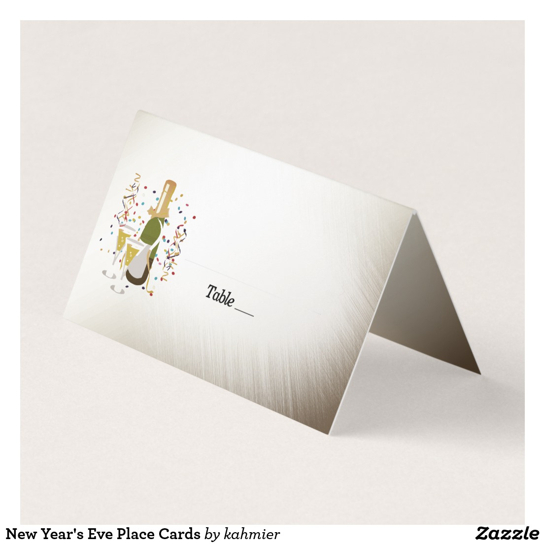 New Year's Eve Place Cards