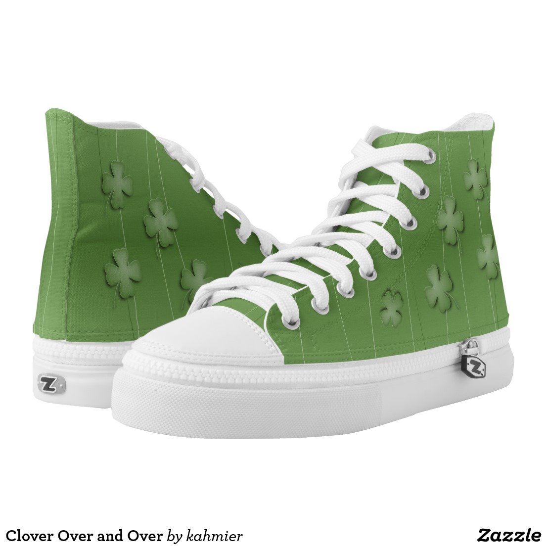 Clover Over and Over High-Top Sneakers