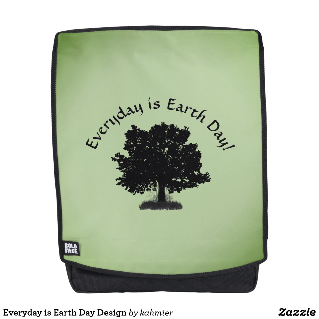 Everyday is Earth Day Design Backpack