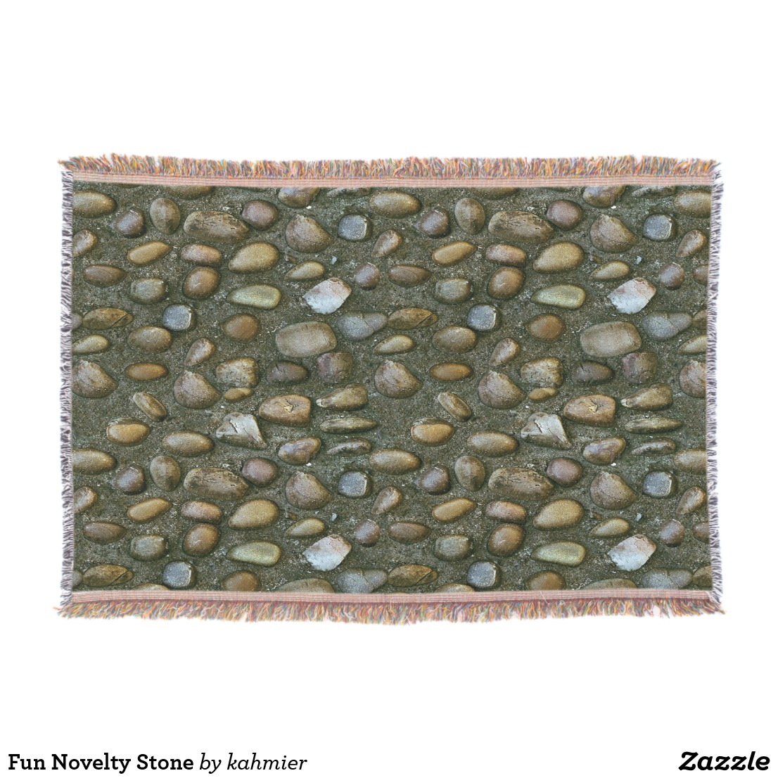 Fun Novelty Stone Throw