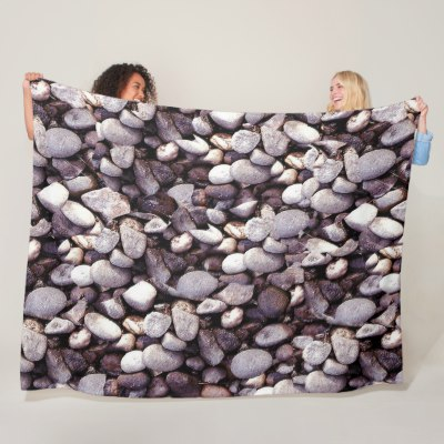 Pebbles Fleece Blanket
