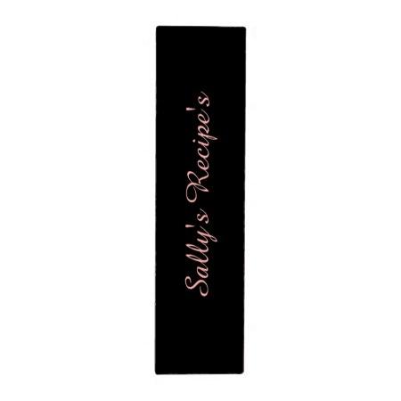 Elegant Black and Pink Damask Binder