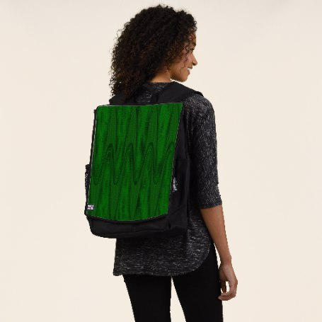 Hunter Green Design Backpack