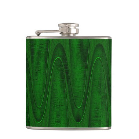Hunter Green Design Hip Flask