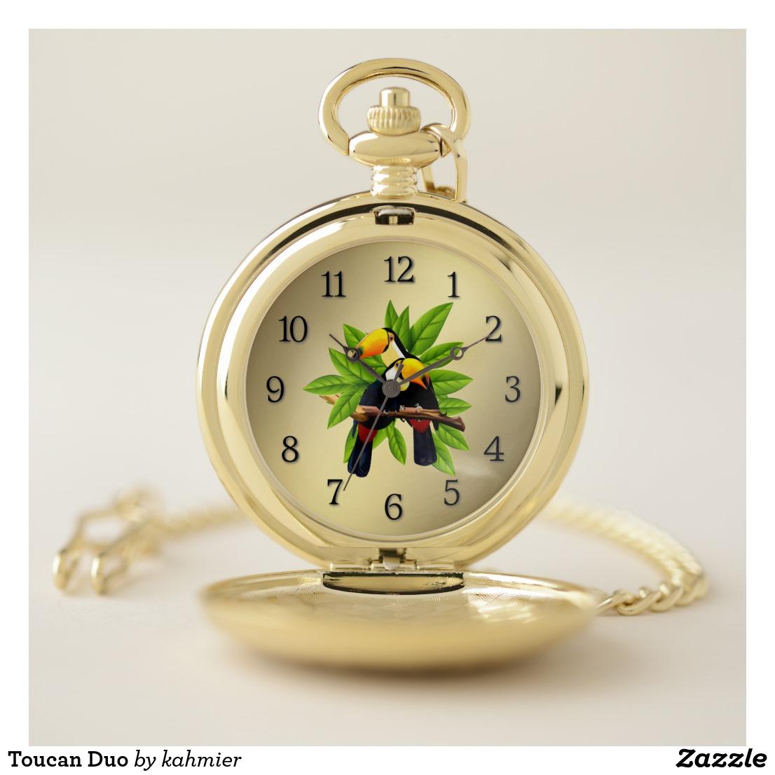 Toucan Duo Pocket Watch