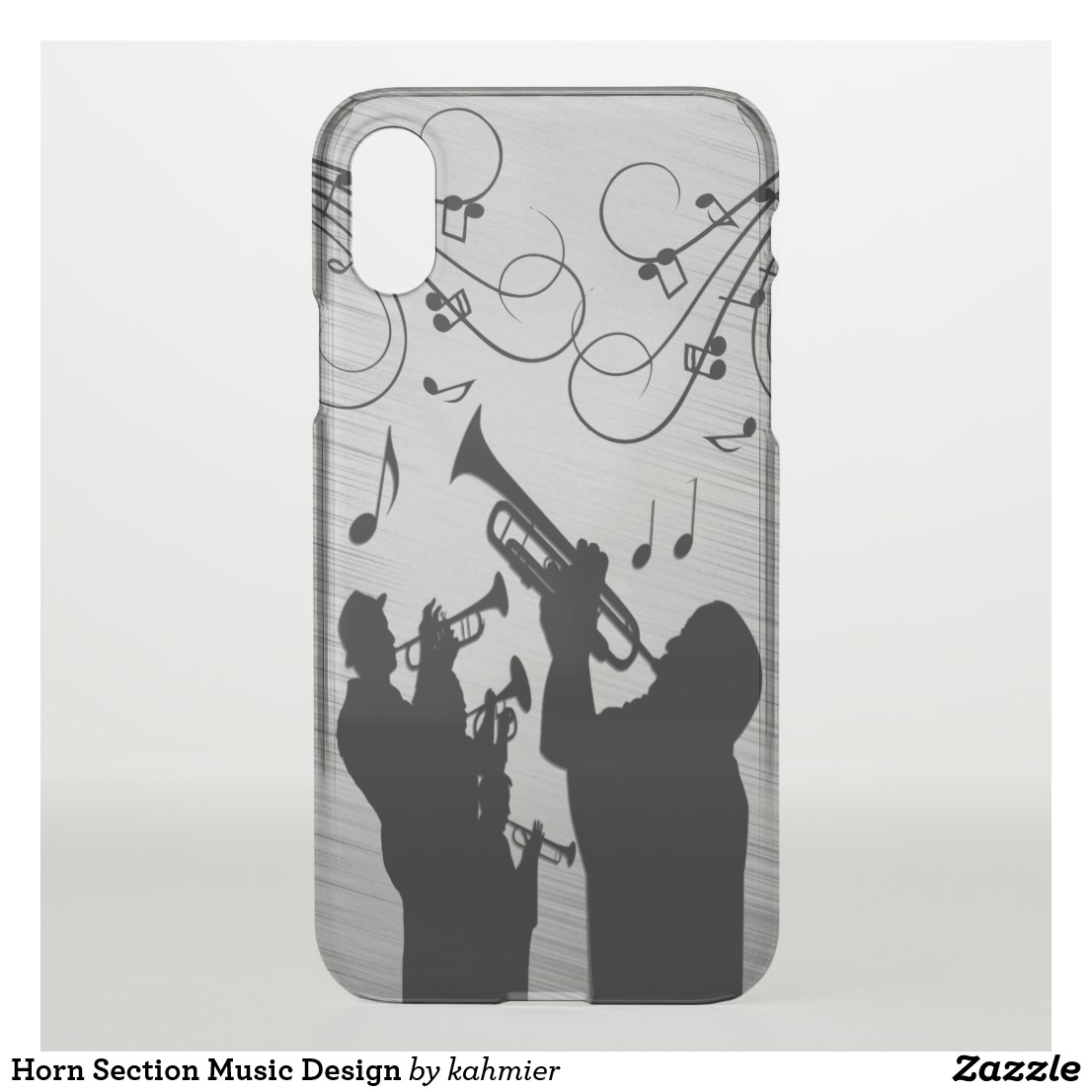 Horn Section Music Design Uncommon iPhone Case