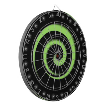 Spiral Hypnotic Hot Green Regulation Dart Board
