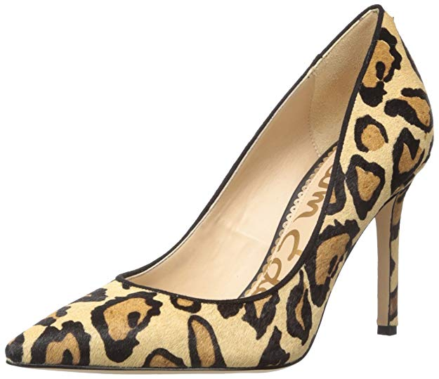 Sam Edelman Women's Hazel Pump, New Nude Leopard 10.5 M US