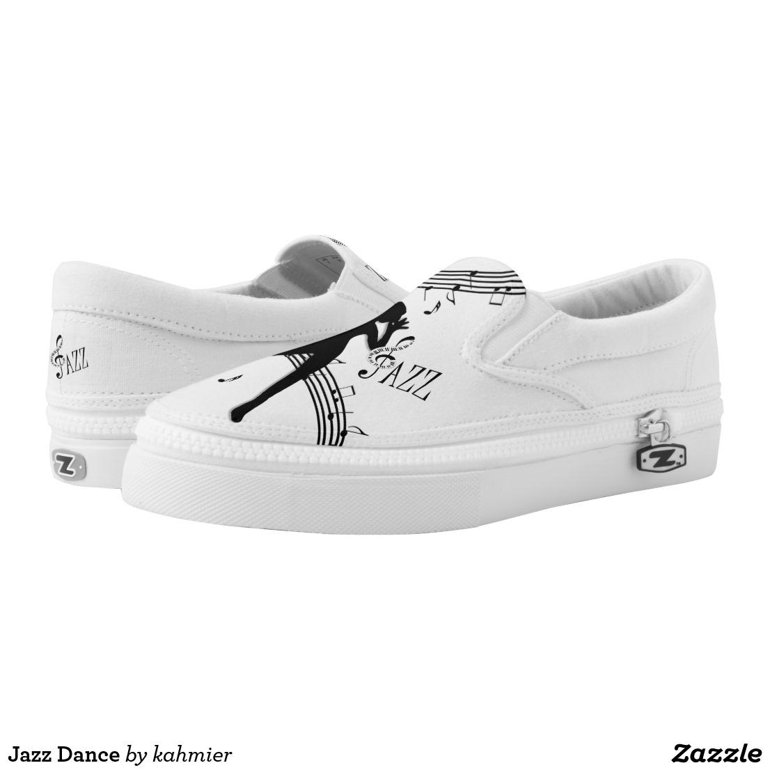 Jazz Dance Slip-On Sneakers