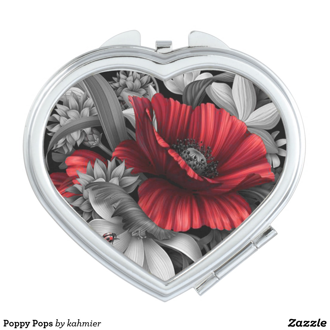 Poppy Pops Vanity Mirror