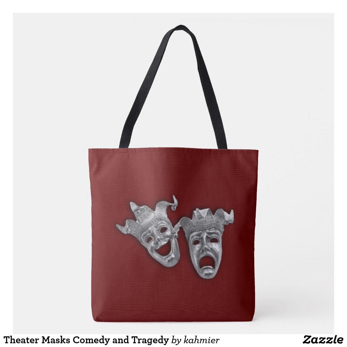 Theater Masks Comedy and Tragedy Tote Bag
