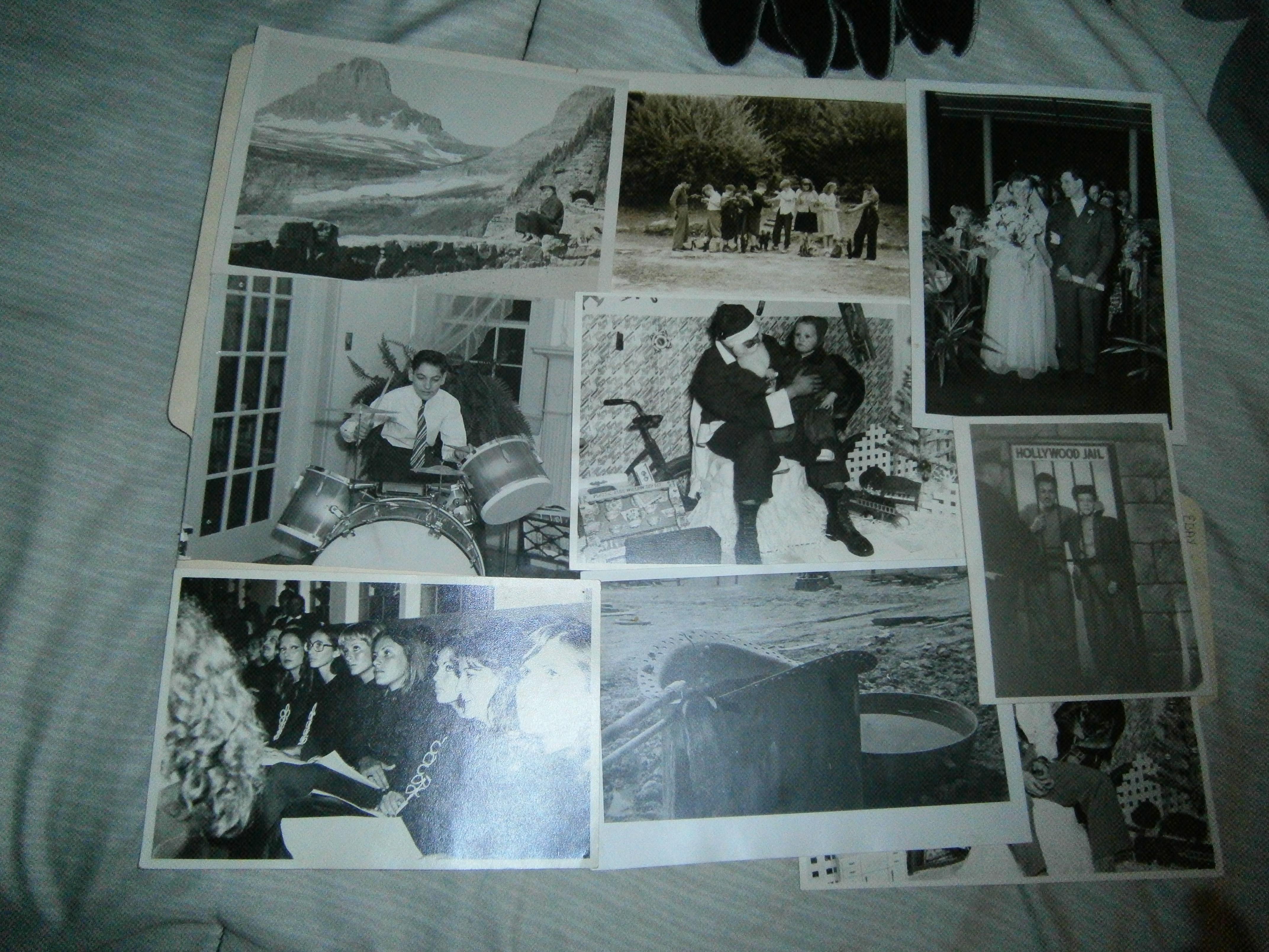 lot vintage photographs