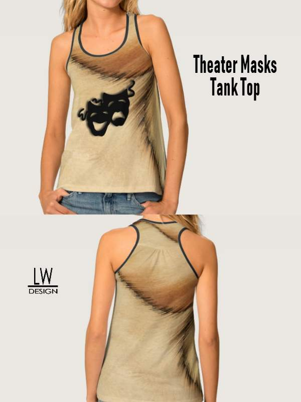 theater design womens shirt