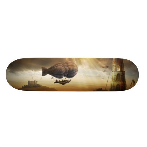 Endless Journey | Steampunk Incredible Adventure Skateboard
