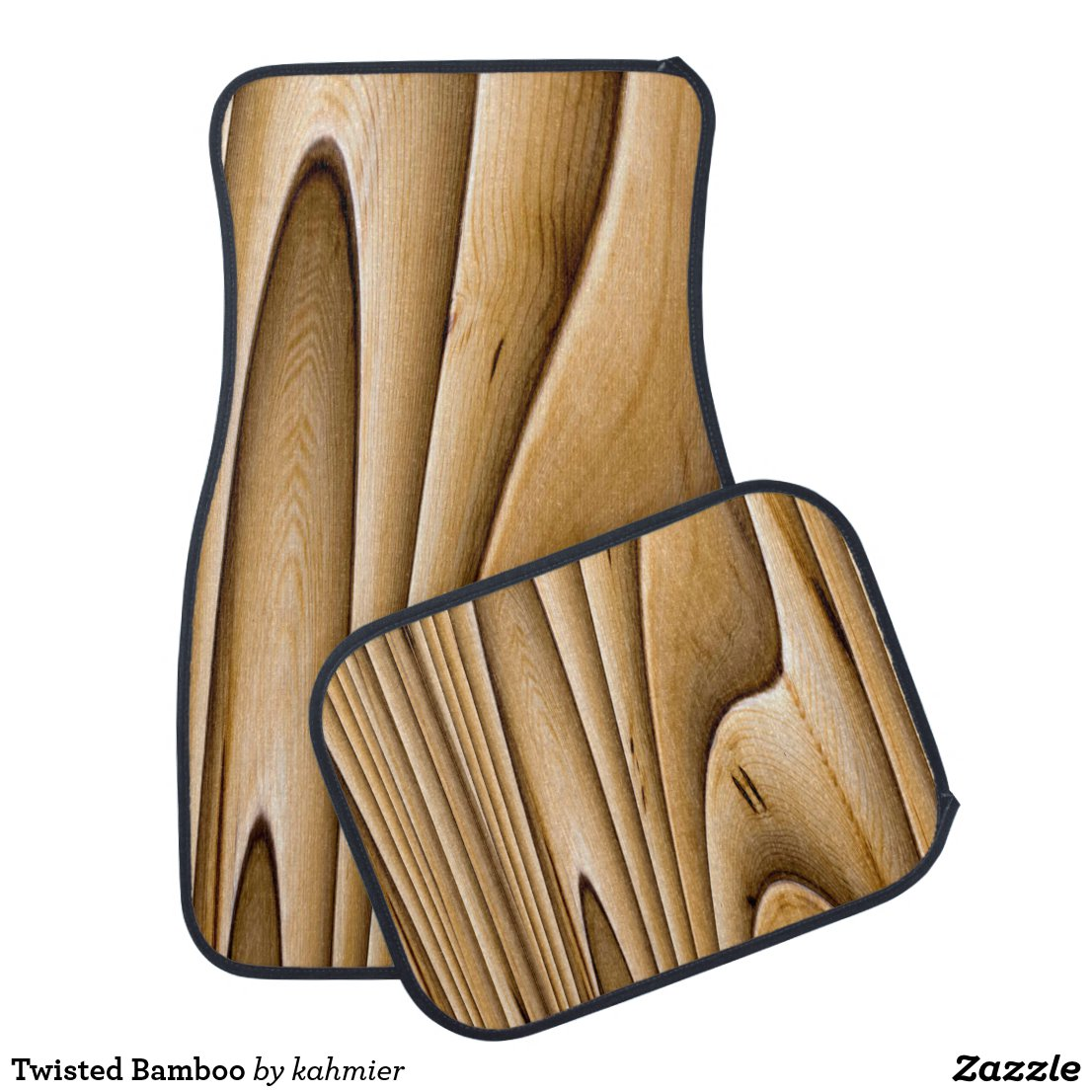Twisted Bamboo Car Floor Mat