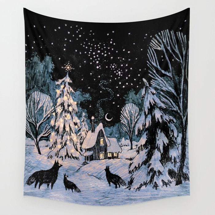 Yule Wall Tapestry
