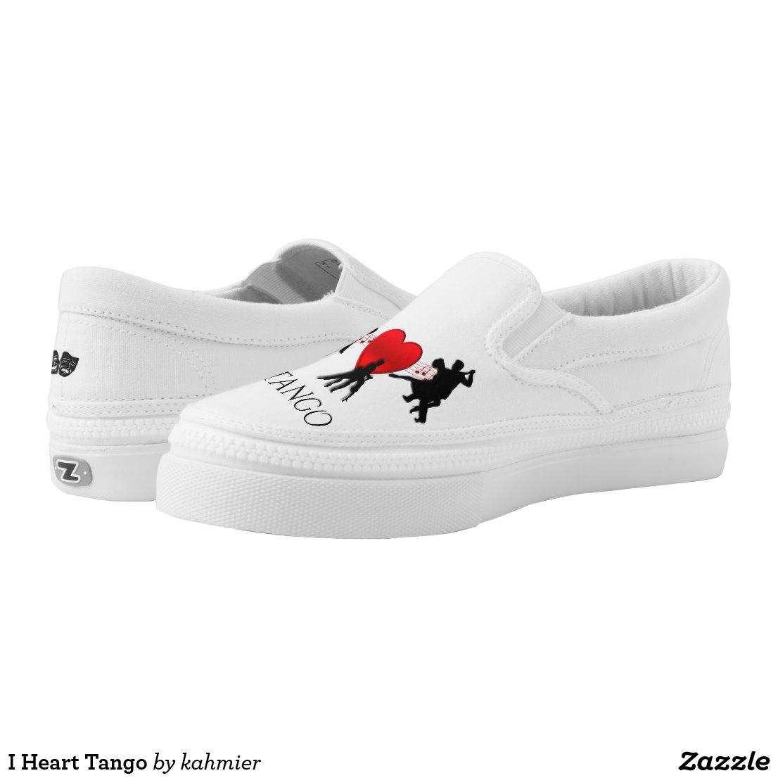 I Heart Tango Slip-On Sneakers